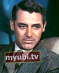 Cary Grant: Biografija, visina, težina, dob, mjere