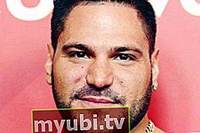 Ronnie Ortiz-Magro: biografija, visina, težina, dob, mjere