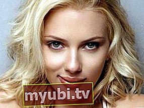 Scarlett Johansson: Biografija, visina, težina, dob, mjere