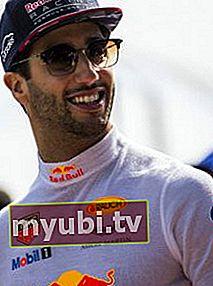 Daniel Ricciardo: Bio, Altura, Peso, Medidas