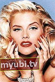 Anna Nicole Smith: Bio, familie, højde, vægt, målinger