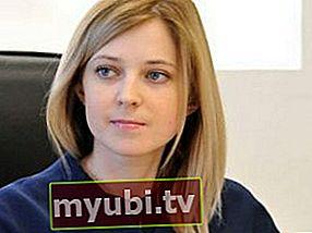Natalia Poklonskaya: bio, altura, peso, medidas